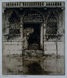 Ernest David Roth, 'Watergate, Venice', 1907