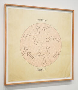 Roberta Allen, '6 Ascending Arrows, 6 Descending Arrows', 1978