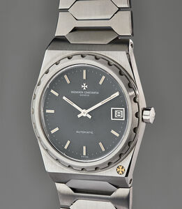Vacheron & Constantin, 'A fine and very rare stainless steel wristwatch with date and integrated bracelet', 1979