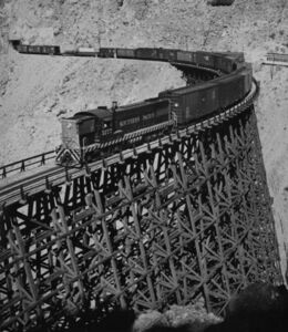Richard Steinheimer, 'Carriso Gorge, Goat Canyon, Trestle', 1952