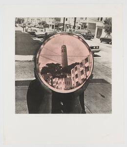 Iain Baxter&, 'Reflected San Francisco Beauty Spot - Coit Tower', 1979