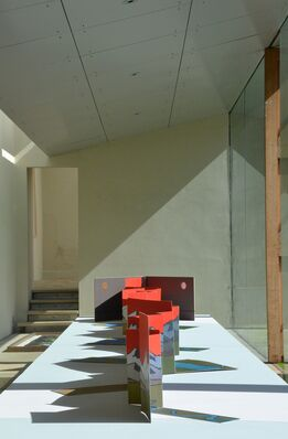 Lost: a new work by Bill Woodrow, installation view