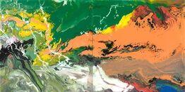 Gerhard Richter, Flow P15