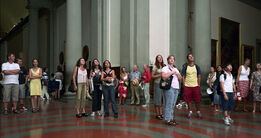 Thomas Struth, Audience 04, Florenz 2004