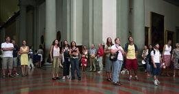 Thomas Struth, Audience 04, Florenz 2004