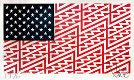 FAILE, Star Spangled Shadows (Faile Flag)