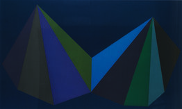 Sol LeWitt, Two Asymmetrical Pyramids: Plate 3