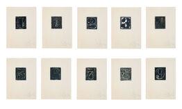 Jasper Johns, 0-9