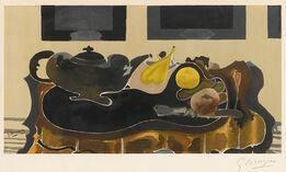 Georges Braque, Theiere et Fruits