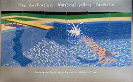 David Hockney, A Diver