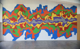 Sol LeWitt, Wall Drawing #1002: Splat