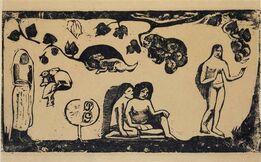 Paul Gauguin, Femme Animaux