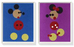 Damien Hirst, Mickey & Minnie