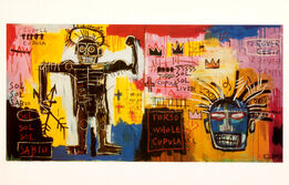 Jean-Michel Basquiat, Jean-Michel Basquiat at Tony Shafrazi Gallery, New York, 1993 (announcement)