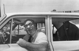 William Eggleston, Untitled (Man in Car)