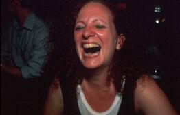 Nan Goldin, Self-portrait laughing, Paris