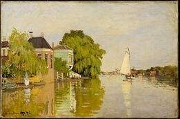 Claude Monet, Houses on the Achterzaan