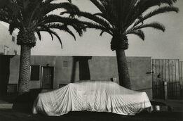 Robert Frank, Covered Car--Long Beach, California
