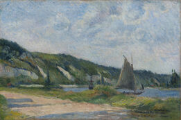 Paul Gauguin, Les falaises de la Bouille