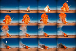 Tyler Shields, Rolls Royce on Fire