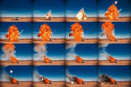 Tyler Shields, Rolls Royce on Fire