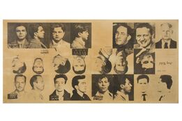 Andy Warhol, 13 Most Wanted Men