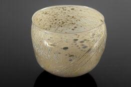 Dale Chihuly, 1979 Basket Hand Blown Glass Sculpture Basket Art Blanket