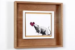 Banksy, Rat & Heart