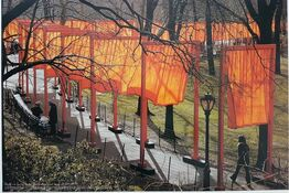 Christo and Jeanne-Claude, The Gates - New York Central Park