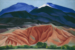 Georgia O'Keeffe, Black Mesa Landscape, New Mexico / Out Back of Marie's II