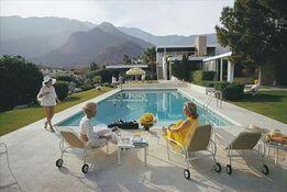 Slim Aarons, Slim Aarons: Kaufman Desert House (sister image to Poolside Glamour and Poolside Gossip), Slim Aarons Estate Edition