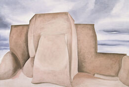 Georgia O'Keeffe, Ranchos Church, New Mexico