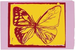 Andy Warhol, Butterfly (from Vanishing Animals)