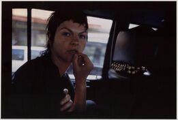 Nan Goldin, Valerie in the Taxi, Paris