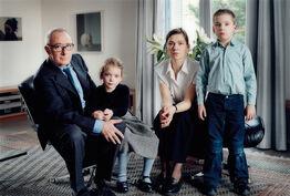 Thomas Struth, The Richter Family 2 Köln