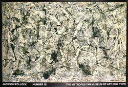 Jackson Pollock, Number 28