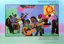 Romare Bearden, Brooklyn Museum: Jamming at the Savoy
