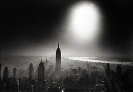 William Klein, Atom Bomb Sky, New York
