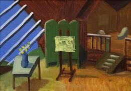 David Hockney, Bridlington Studio Interior