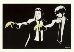 Banksy, Pulp Fiction