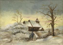 Edward Hopper, Church and Landscape