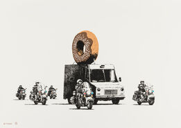 Banksy, Donuts (Chocolate)
