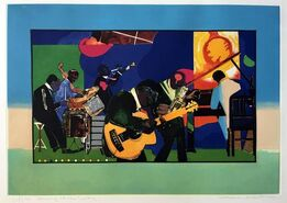 Romare Bearden, Jamming at the Savoy