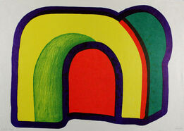 Howard Hodgkin, Composition with Red