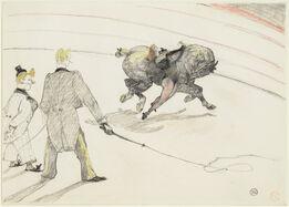 Henri de Toulouse-Lautrec, At the Circus: Acrobats