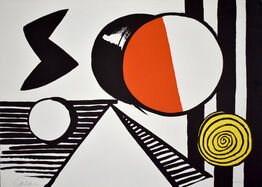 Alexander Calder, The S and the O | Le S et le O