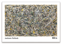 Jackson Pollock, Jackson Pollock No. 1 Poster