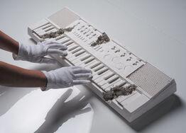 Daniel Arsham, Future Relic 09 - Keyboard
