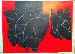 Keith Haring, Untitled (Serpent)