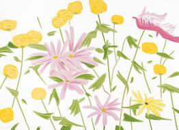 Alex Katz, Spring Flowers
